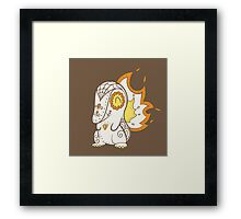 Cyndaquil Pokemuerto | Pokemon & Day of The Dead Mashup Framed Print