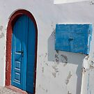 Oia Entrance by phil decocco