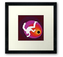 Profondo Rosso Framed Print