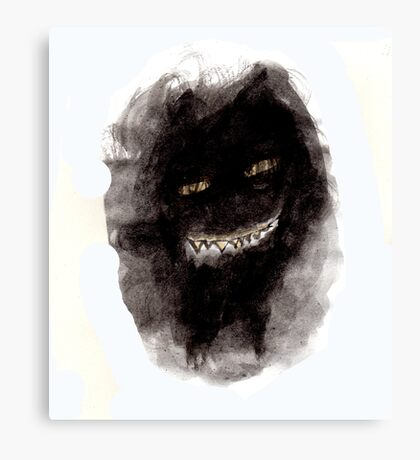 The terrifying movie Canvas Print