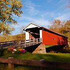 Rinard Coverd Bridge III by Jeanne Sheridan