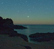 Jupiter Setting across Rapid Bay by pablosvista2