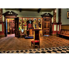 Masonic Hall At Beamish #2 Photographic Print