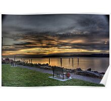 Mukilteo Sunset Poster