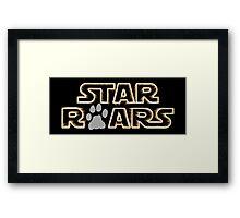 Star Roars Framed Print
