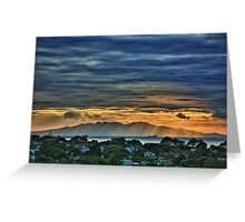 Coromandel Dawn Greeting Card