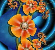 Fractal Cuties and Flowers by lacitrouille