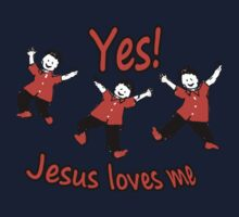 Yes Jesus Loves Me Kids Clothes