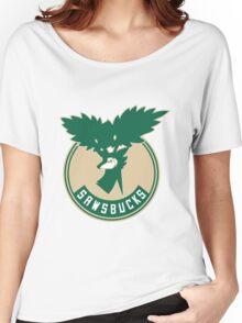 [V2] Sawsbucks S5 Logo Women's Relaxed Fit T-Shirt