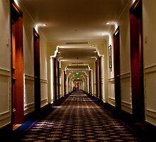 Oberoi Hallway by phil decocco