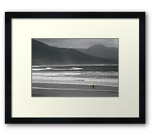 Irish Surfer Framed Print