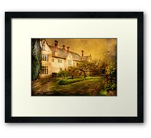 The Mansion on the Hill Framed Print