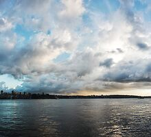 Sydney Harbour by Tom Stokes