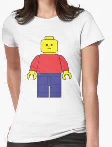 Original Lego Mini Figure Womens Fitted T-Shirt