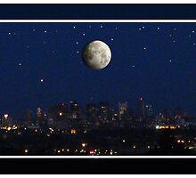 Boston from Arlington  by DrewK