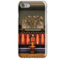 Masonic Hall At Beamish iPhone Case/Skin