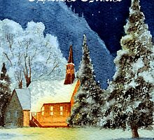 Merry Christmas Card by bill holkham