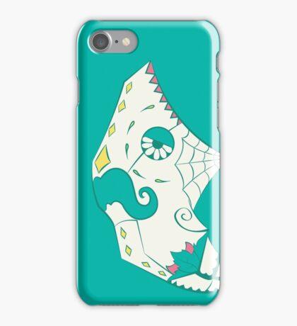 Metapod Pokemuerto | Pokemon & Day of The Dead Mashup iPhone Case/Skin
