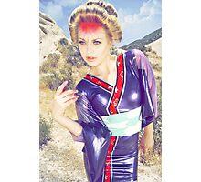 Neon Geisha Photographic Print