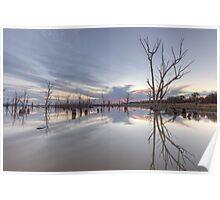 Lake Mokoan • Victoria • Australia Poster