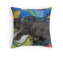 Festus; King of the House Throw Pillow