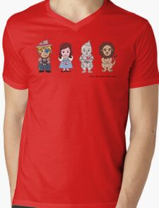 Wizard of Oz Friends Mens V-Neck T-Shirt