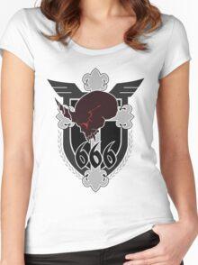 666th TSF Squadron Schwarzesmarken Women's Fitted Scoop T-Shirt