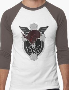 666th TSF Squadron Schwarzesmarken Men's Baseball ¾ T-Shirt