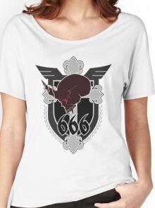 666th TSF Squadron Schwarzesmarken Women's Relaxed Fit T-Shirt