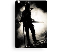 Guitar Fog Canvas Print