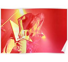 Hair Guitar Poster