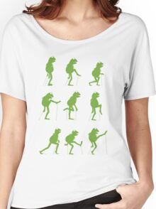 Ministry of Silly Muppet Walks Women's Relaxed Fit T-Shirt