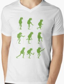 Ministry of Silly Muppet Walks Mens V-Neck T-Shirt