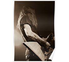 Tattoo Guitar Poster