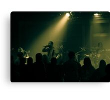 Band Crowd Canvas Print