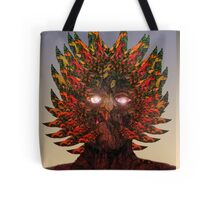 Monster Chief Dip Pen and Ink Drawing  Tote Bag