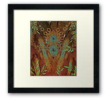 Woodhenge  Framed Print