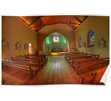 A Quiet Place - The Chapel, Daylesford Convent, Daylesford, Victoria Australia - The HDR Experience Poster