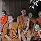 Young Monks by Sid Paleri