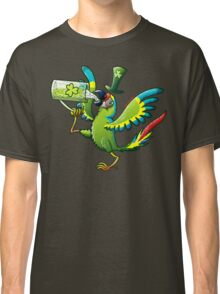 Saint Patrick's Day Macaw Classic T-Shirt