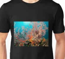 Lionfish on a coral bommie, Papua New Guinea Unisex T-Shirt
