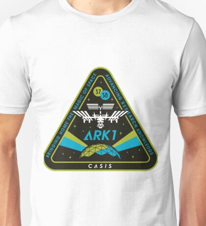 CASIS ARK-1 Mission Logo Unisex T-Shirt