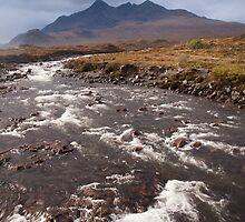 River Sligachan by Christopher Cullen