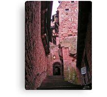 Alsace castle Canvas Print