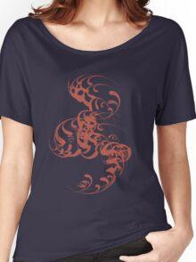 Cute Whirls Cool Lovely Grunge T-Shirt Women's Relaxed Fit T-Shirt