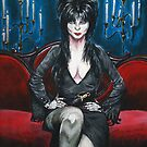 Elvira Portrait by Brittney Lawrence