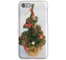 Christmas Tree on Snow iPhone Case/Skin