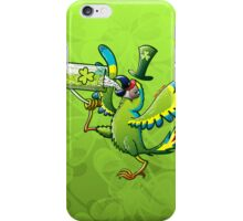 Saint Patrick's Day Macaw iPhone Case/Skin