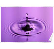 Violet Drop Poster