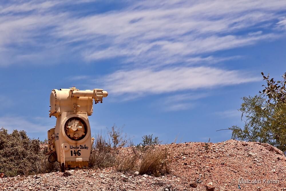 Uncle Dicks - White Cliffs NSW by Malcolm Katon